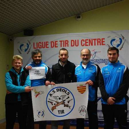 45 Fleury les Aubrais - Chpt de France des Clubs 2018 : Tour Regional. ©Crédit photos : AS Déols Tir.